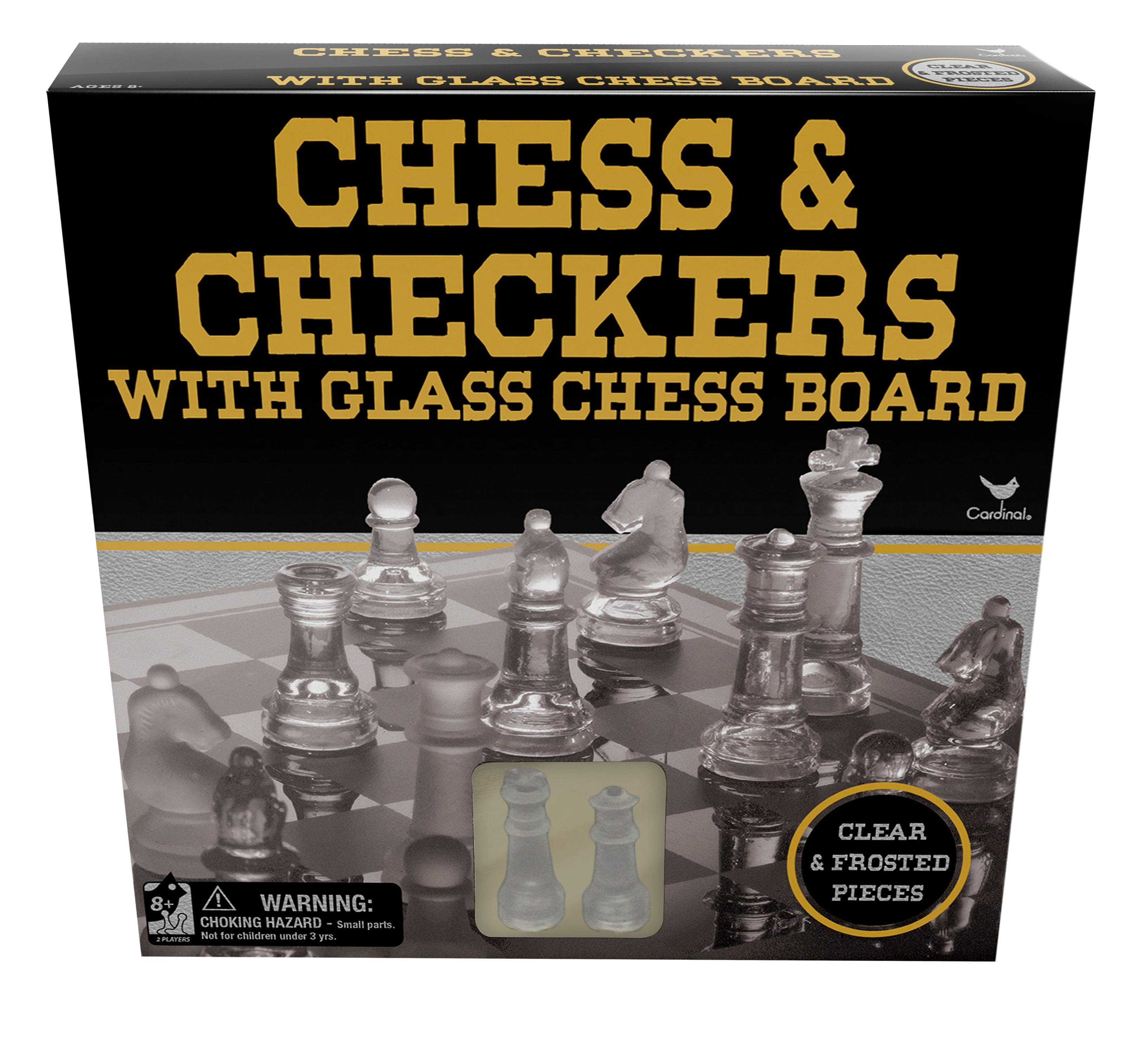 Shot Glass Game Board Chess Checkers Set Drinking Bar Game Poker Cards Adult