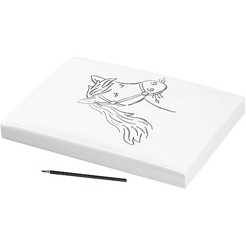 Pacon Tracing Paper, 9 x 12, Semi-Transparent, 500 Sheets/Ream