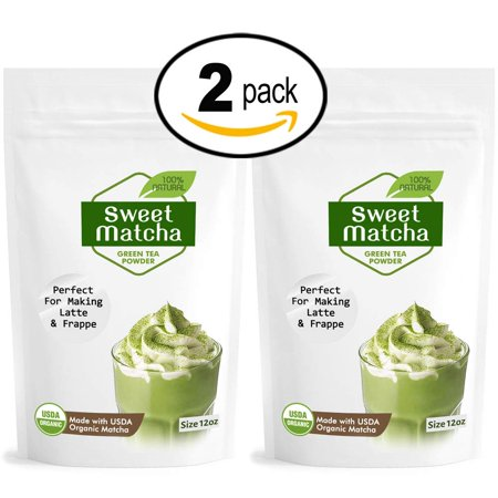 Sweet Matcha Green Tea Powder from Japan (2x 340g) Latte Grade; Delicious Energy Drink - Shake, Latte, Frappe, Smoothie. Made with USDA Organic Matcha - Matcha Outlet](Halloween Latte Drinks)