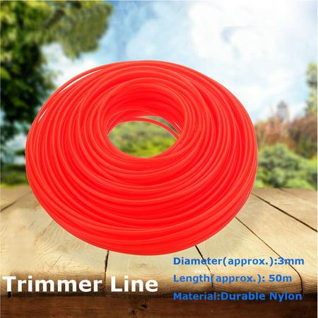3mm*50M Nylon Trimmer Line Whipper Snipper Cord Wire Brush Cutter Brushcutter