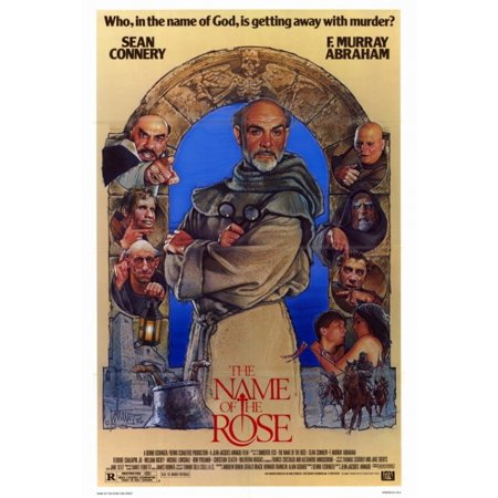 The Name Of The Rose Movie Poster Print  27 X 40