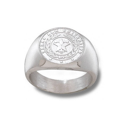 NCAA - Texas A&M Aggies Sterling Silver Seal Ring Size 10 1/2