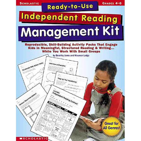 Ready To Use Independent Reading Management Kit  Grades 4 6