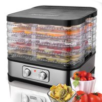 Food Dehydrator Machine Professional Electric Multi-Tier Food Preserver for Meat or Beef Fruit Vegetable Dryer STDTE