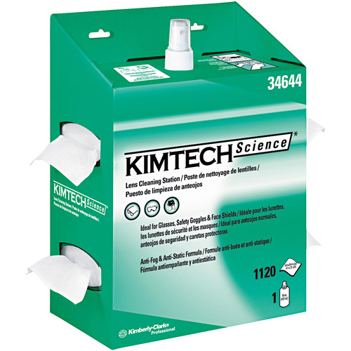 Kimberly-Clark Professional KIMTECH Science Lens Cleaning Station Kit, (Pack of 4)