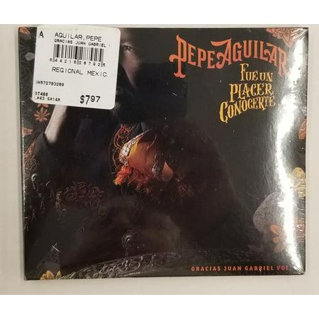 Pepe Aguilar Fue Un Glacer Conocerte (CD) (Perdoname Pepe Aguilar)