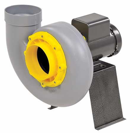 PLASTEC PLA20ST4P Blower,D/D,230/460 V,HP 1/3
