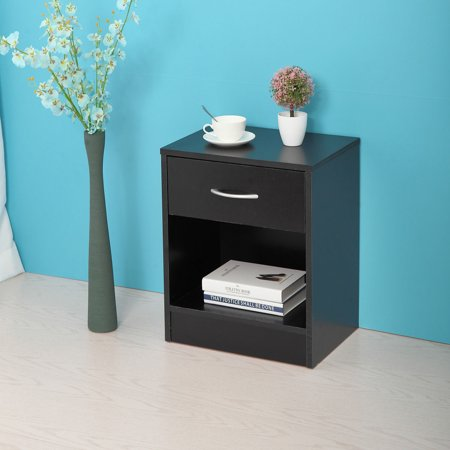 Lazymoon Night Stand 2 Layer Bedside End Table Organizer Bedroom ...