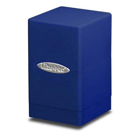 Ultra Pro Blue Satin Tower Deck Boxes