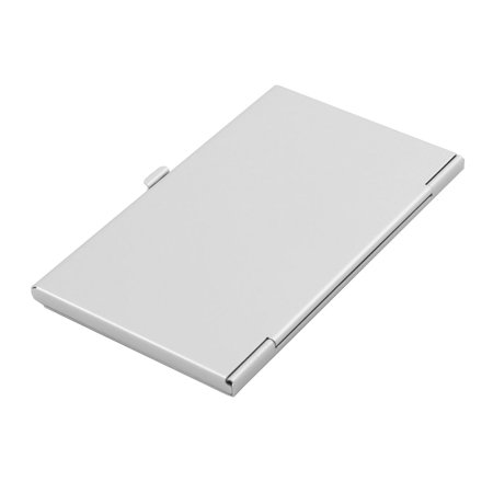 Aluminum Alloy 4 Slots TF SD SIM Memory Card Storage Case Box Bag Silver Tone - image 1 of 3