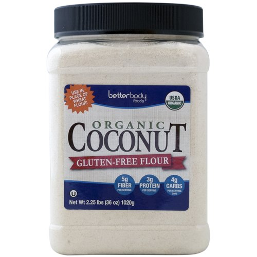 Betterbody Foods Organic Coconut Gluten-Free Flour, 2.25 lbs