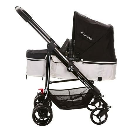 Lightweight Car Seat >> Versa Lightweight 3 In 1 Pram Stroller Car Seat Carrier Black