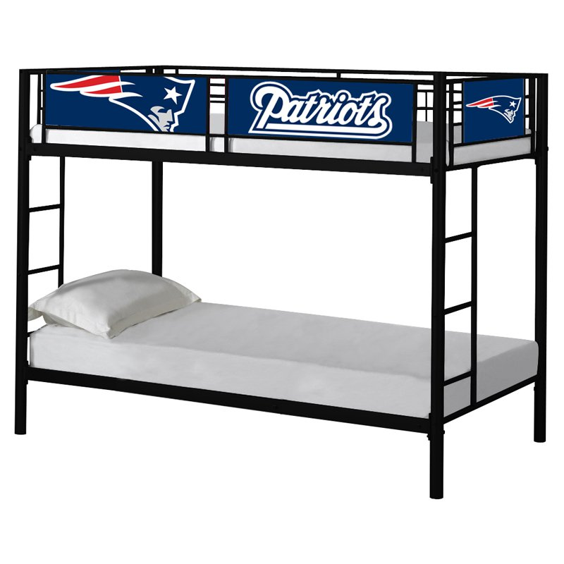 Green Bay Twin over Twin Packers Bunk Bed