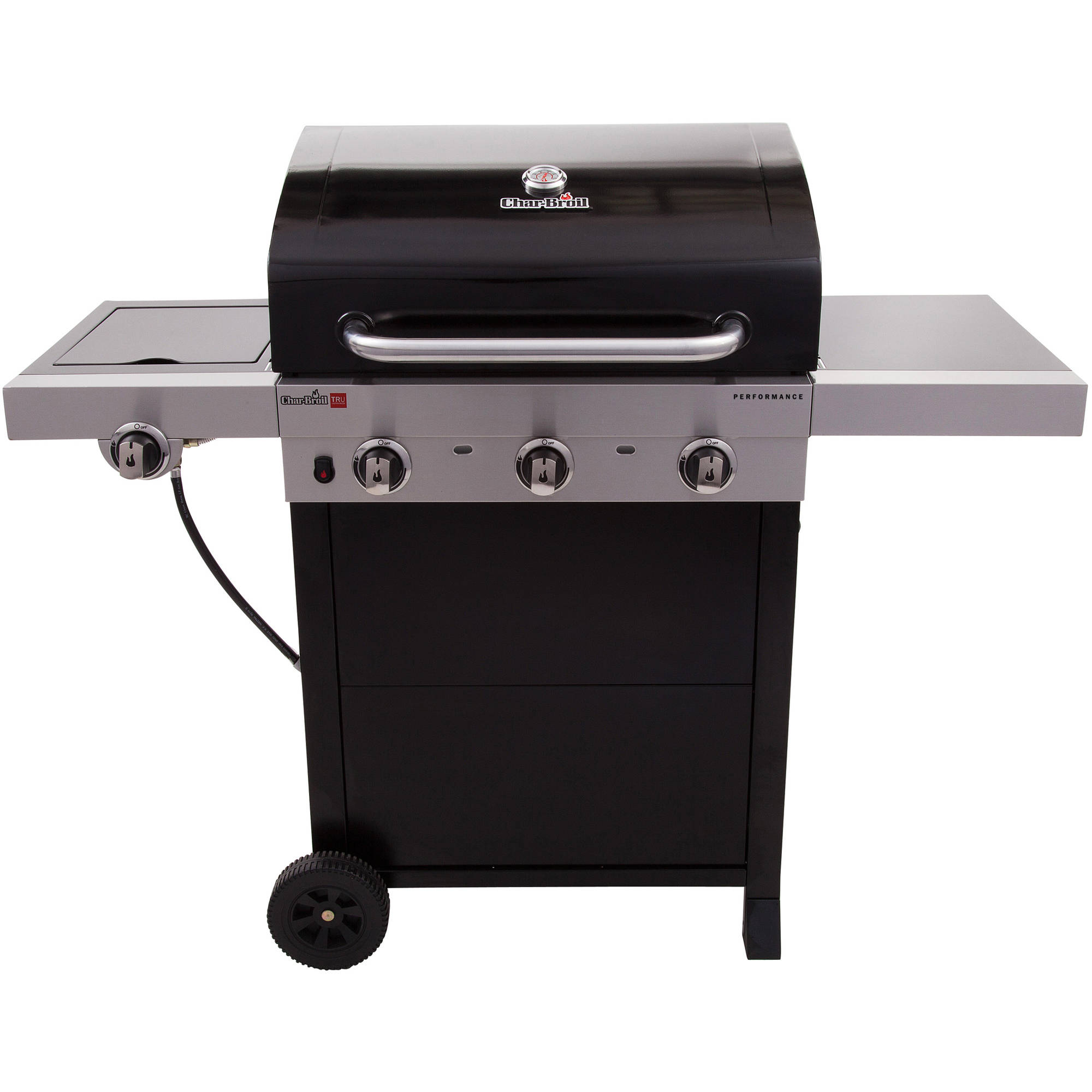 Char broil tru infrared 3 burner grill top quality gas bbq for Gas grill tops outdoor kitchen