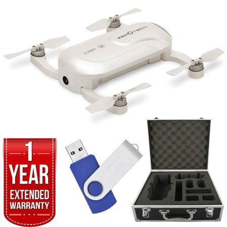 ZeroTech DOBBY Mini Selfie Pocket Drone with 13MP High Definition Camera Bundle
