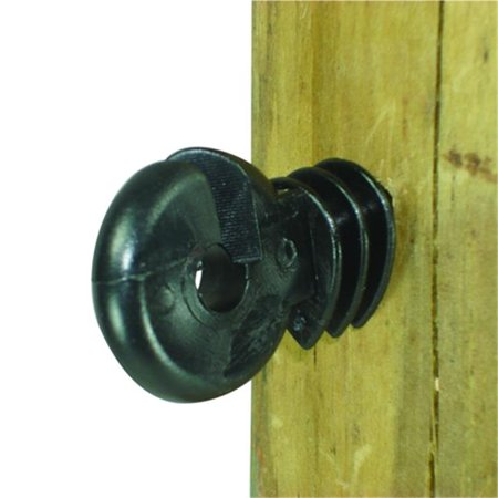Wood Post, Screw in Ring Insulator - Polyrope, - 3.5 Wood Posts