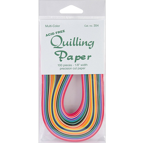 """Quilling Paper, 1/8"""", 100pk"""