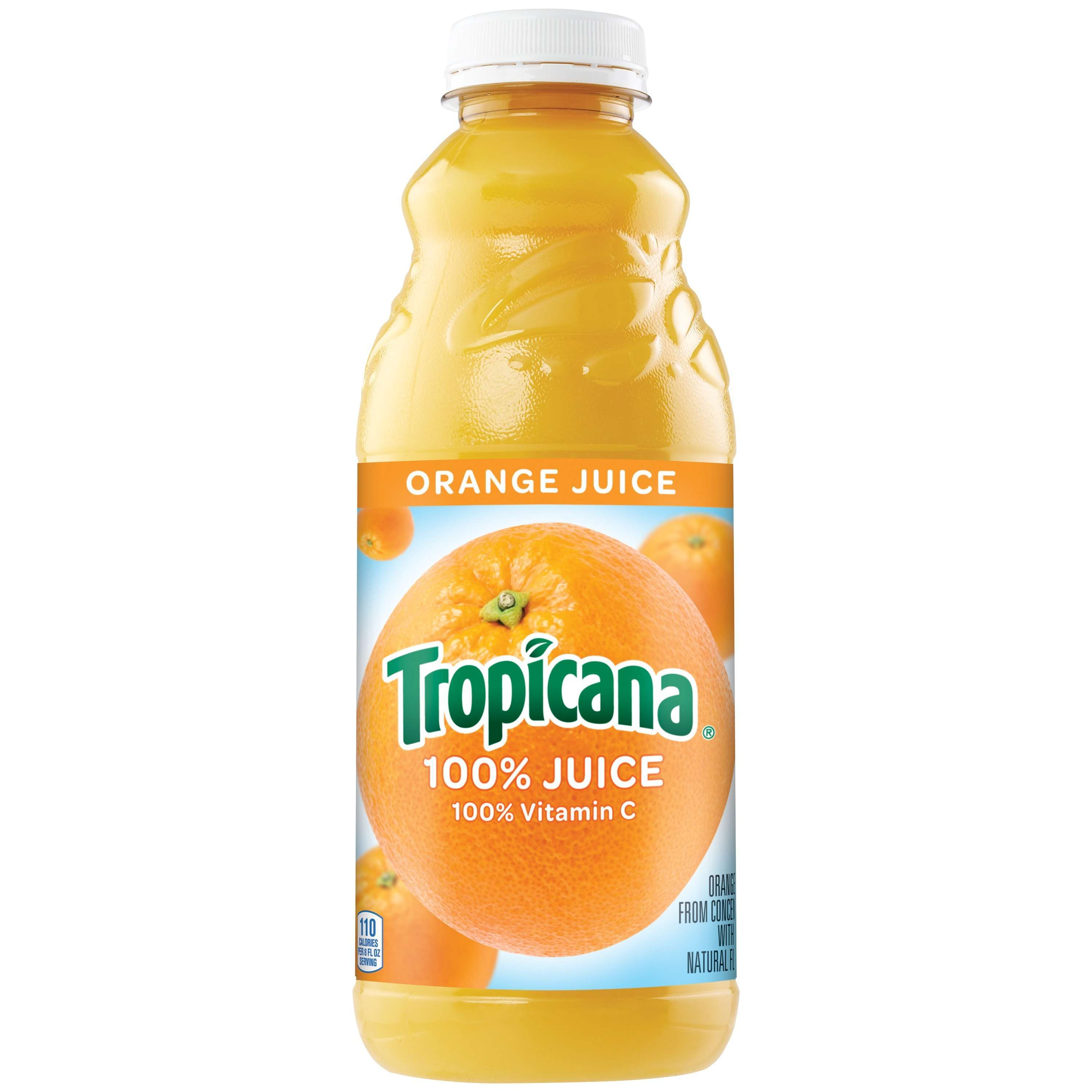 Tropicana 100% Orange Juice, 32 Fl. Oz.