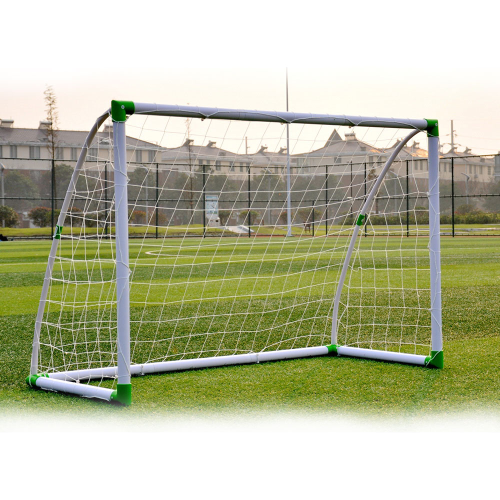 Zimtown 6' x 4' Soccer Goal Anchors Foootball Training Set with Net Straps for Indoor   Outdoor Garden Backyard, Kids... by