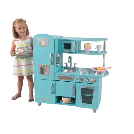 KidKraft Vintage Play Kitchen - Blue - Walmart.com