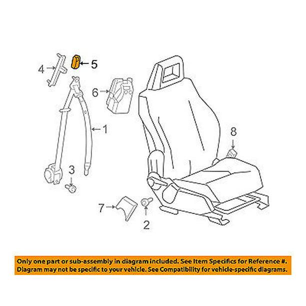 srt4 belt diagram chrysler oem front seat belt seat belt cover yv87dw1ad walmart  chrysler oem front seat belt seat belt