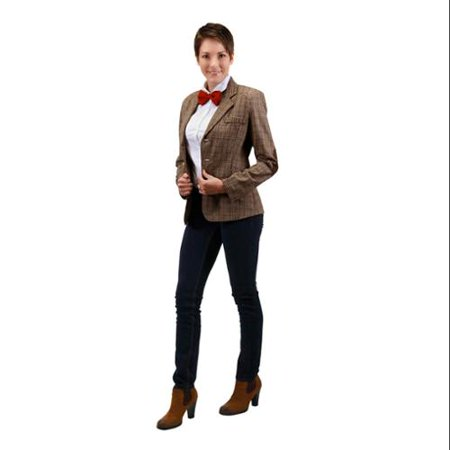 Eleventh Doc Women's Adult Costume (S/M) - Doc Brown Cosplay