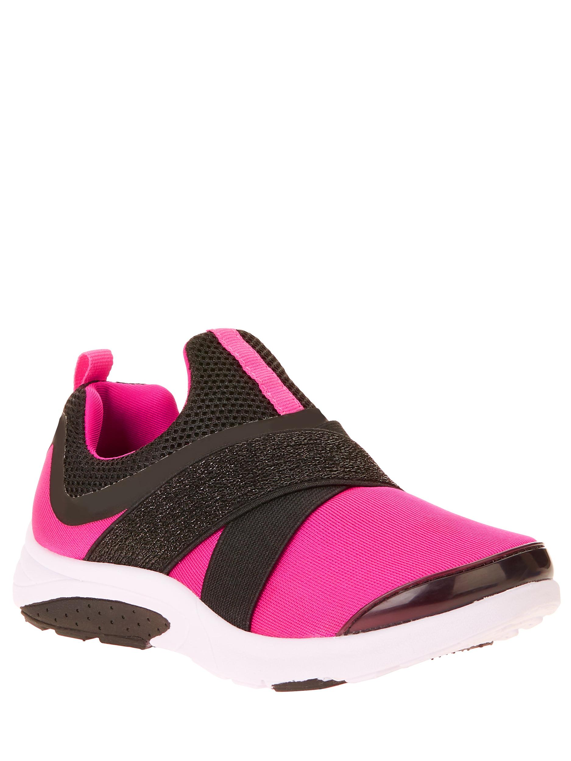 Athletic Works Girls' Slip On Running Shoe - Walmart.com - Walmart.com
