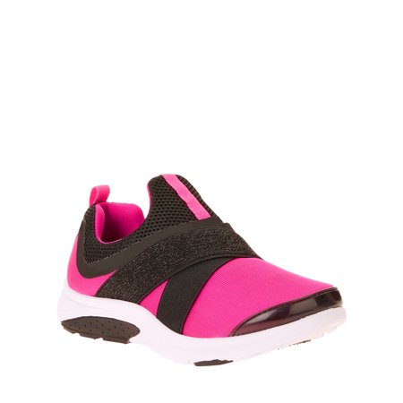 Athletic Works Girls' Slip On Running Shoe (Girls Size 3 Nike Shoes)