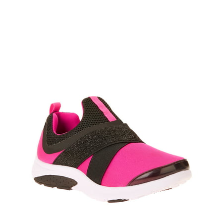 Athletic Works Girls' Slip On Running Shoe