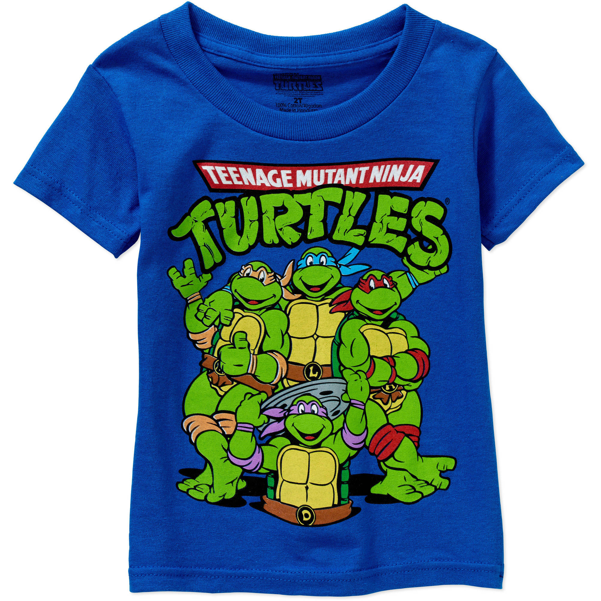Nickelodeon Teenage Mutant Ninja Turtles Toddler Boy Short Sleeve Graphic T-Shirt