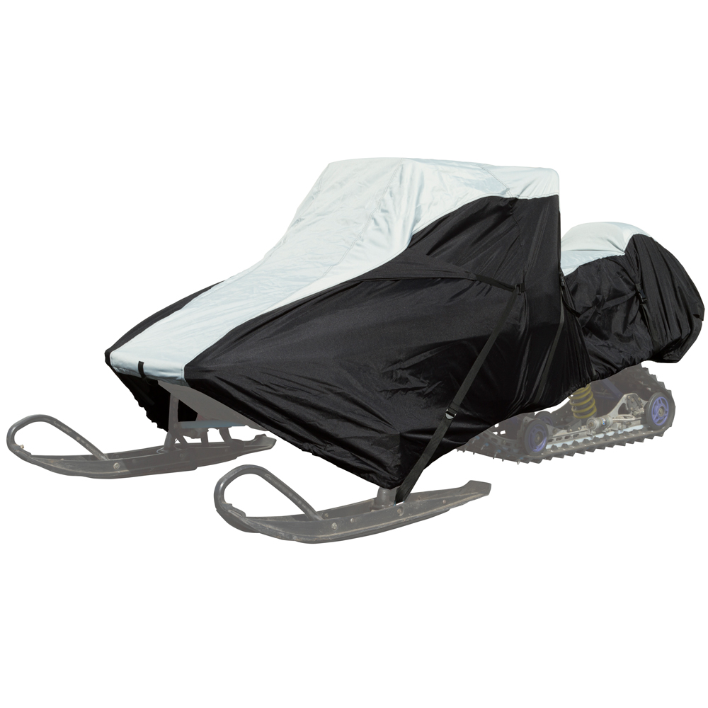 """126"""" to 138"""" Extreme Protection Waterproof Trailer Snowmobile Cover"""
