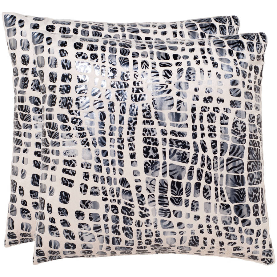 Safavieh Cleo Abstract Pillow, Set of 2