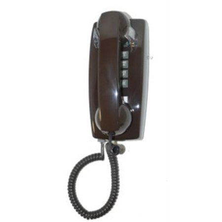 cortelco kellogg 2554 wall mount phone bn telephony with vol cntrl