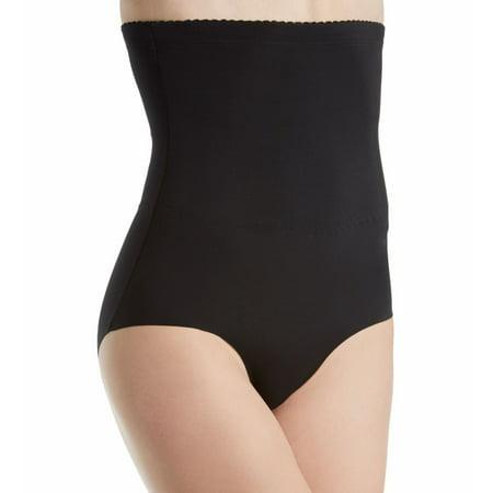 Women's Heavenly Secrets Shapewear 4572 Hi Waist Laser Cut Firm Control Brief Panty