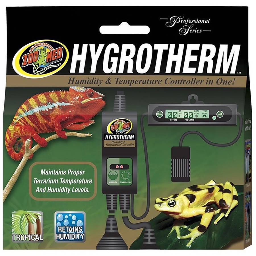 Zoo Med Hygrotherm Humidity & Temperature Controller by Generic