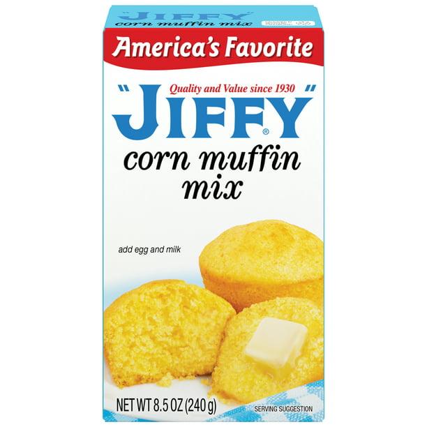 1 Box) Jiffy Corn Muffin Mix, 8.5 Oz. - Walmart.com - Walmart.com