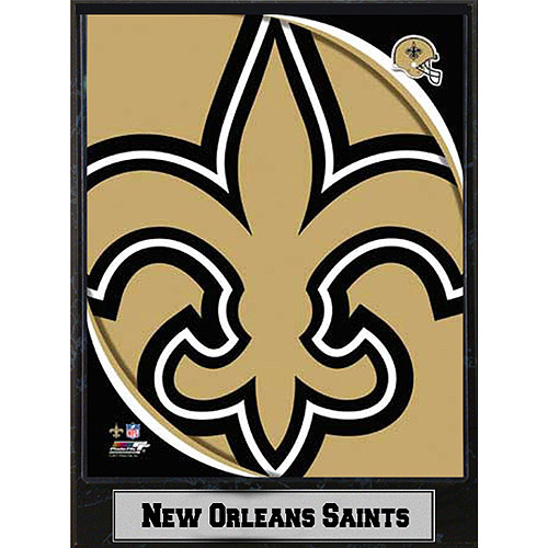 NFL New Orleans Sants Photo Plaque, 9x12