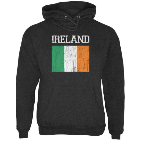 World Cup Distressed Flag Ireland Charcoal Heather Adult