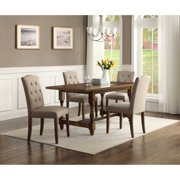 Better Homes & Gardens Providence 5-Piece Dining Set, Brown