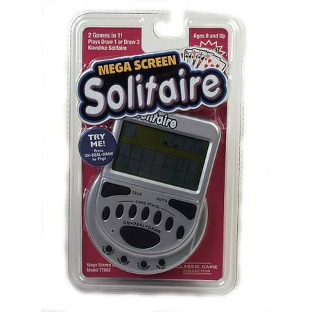 Mega Screen Solitaire, 2 Games in 1 By John N. Hansen Klondike Solitaire Games
