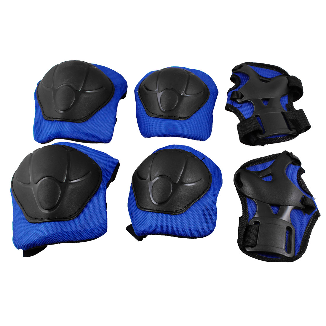 Children Skating Skateboarding Safety Gear Palm Wrist Guard Elbow Knee Pads Set by Unique-Bargains