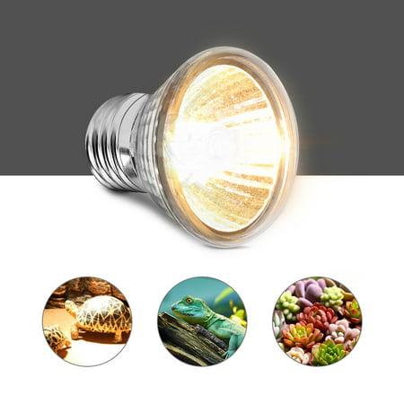 Mavis Laven 75W Heating Light Bulb Reptile Heating Light Aquarium Heating Light Lamp for Pet Reptile