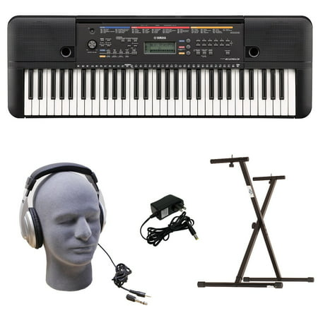 Yamaha PSR-E263 PKY 61-Key Keyboard Pack with Headphones, Power Supply, & Secure Bolt-On (Yamaha Keyboard Psr E243 Price In India)