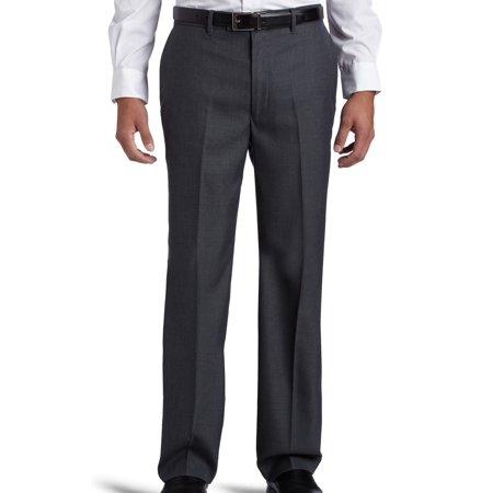 Men's Dress Pants Charcoal 36x29 Flat Front 36