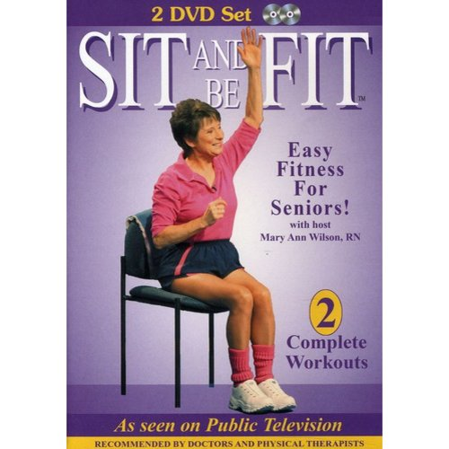 Sit Up and Be Fit 2-DVD Set