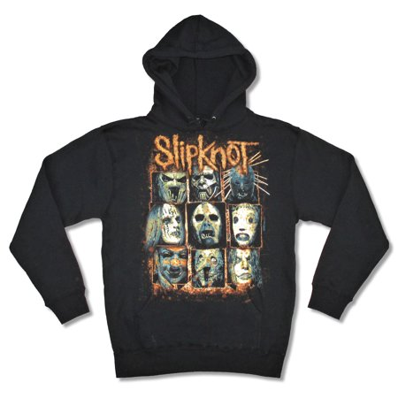 Slipknot Masks Black Sweatshirt Hoodie](Slipknot Spike Mask)
