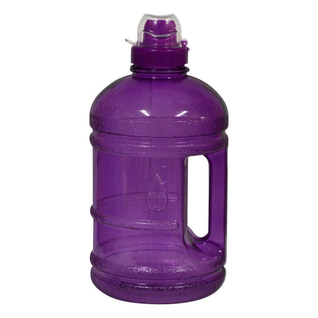 1/2 Gallon (64 oz.) BPA FREE Plastic Water Bottle w/ 48mm Twist Cap