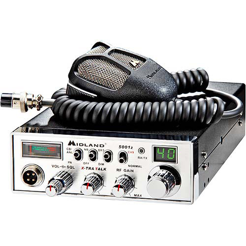 Midland 40-Channel CB Radio With Digital Tuner