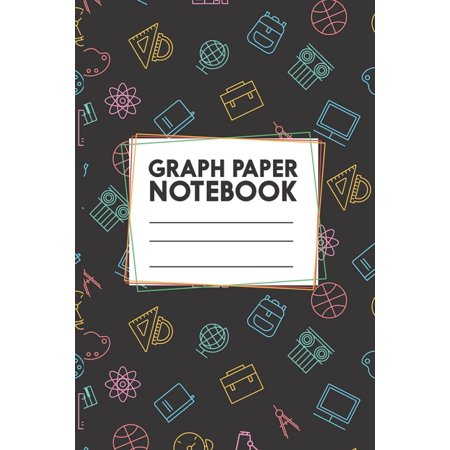 Graph Paper Notebook: Math Science Chemistry Composition Notebook for Students - Graph Paper Notebook - Quad Ruled 5 Squares Per Inch - 6 x 9 Size - 120 Pages (Paperback)