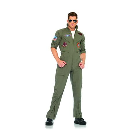 Men's Top Gun Flight Suit (Top Gun Damen Jacke Kostüm)